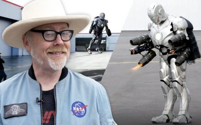 Adam Savage From Mythbusters Built an Iron Man Suit That Flies